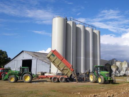 Eurotechnick, polyester silo, corn grain silo